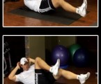 Bicycle Crunch : Oblique Exercises ( Side Abs )