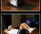 Double Crunch : Best Ab Exercises
