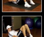 Heel Touchers : Obliques Exercises ( Side Abs )