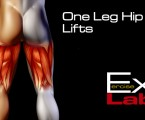 Hip Lift with one Leg : Hamstring Exercises