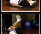 Reverse Crunch : Lower Ab Exercises