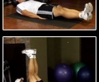 Straight Leg Raise: Lower Ab Exercises