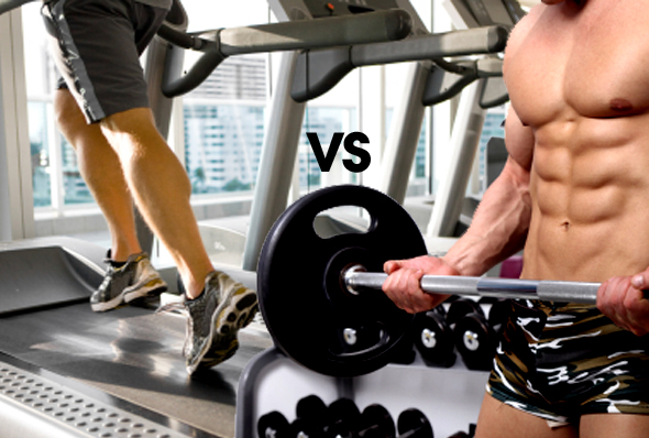 Cardio vs weight training which is best for getting