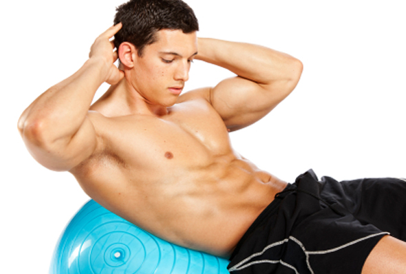 The 3 Best Stability Ball Ab Exercises for 6 Pack Abs