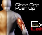Close Grip Push Up : Tricep Exercises