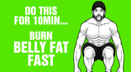 10 mins Of This Burns Belly Fat Fast - 100% Bodyweight Workout
