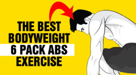 The Best Bodyweight 6 Pack Abs Exercise Ever !